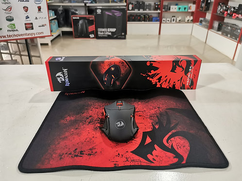 Combo mouse + mouseoad Redragon M601WL-BA