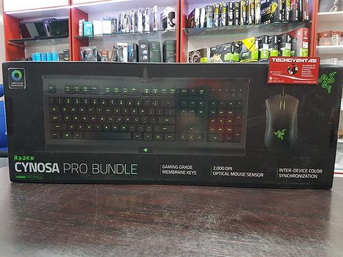 Combo Teclado y Mouse Gamer Razer Cynosa Pro Bundle