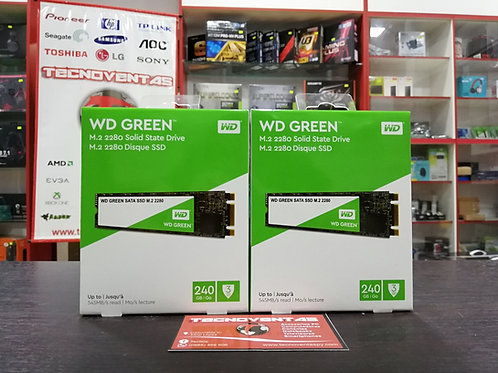 SSD M.2 Western Digital Green 240GB