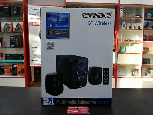 Multimedia Subwoofer Bluetooth SATE AS-635BL