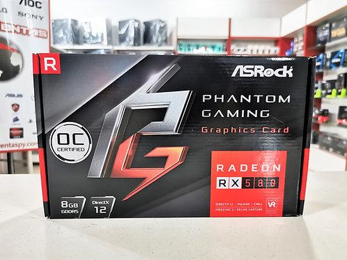Tarjeta gráfica 8GB RX-580 Asrock Phantom Gaming