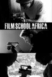 Film School Africa Documentary Poster