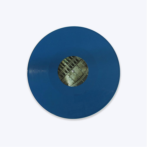 HAM016 - Fieldhead 'We've All Been Swimming' LP. Ltd Edition 'Sea Blue' Vinyl.