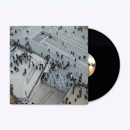 HAM019 - Northerner 'End Of The Holiday' LP. Regular Black Vinyl Edition.