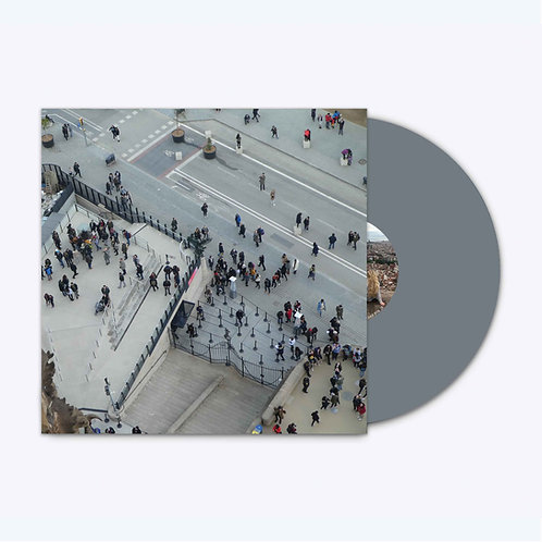 HAM019 - Northerner 'End Of The Holiday' LP. Limited Edition Silver Vinyl.