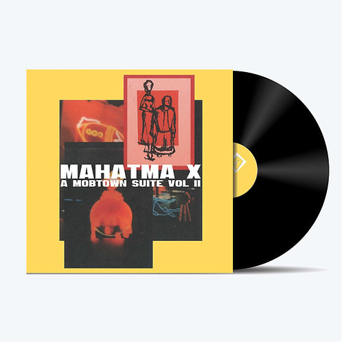 HAM020 - Mahtma X ' A Mobtown Suite Vol. 2' Regular Black Vinyl Edition