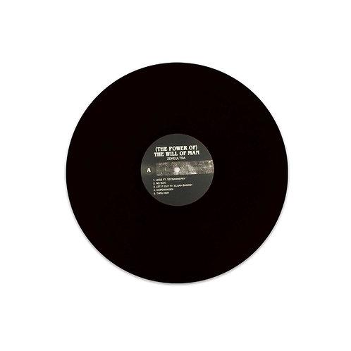 HAM022 - ZekeUltra '(The Power Of) The Will Of Man' Regular Black Vinyl