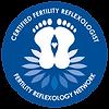 Logo for certified fertility reflexologist