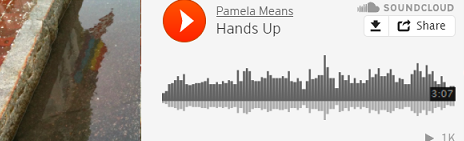 """Hands Up"" by Pamela Means on SoundCloud"