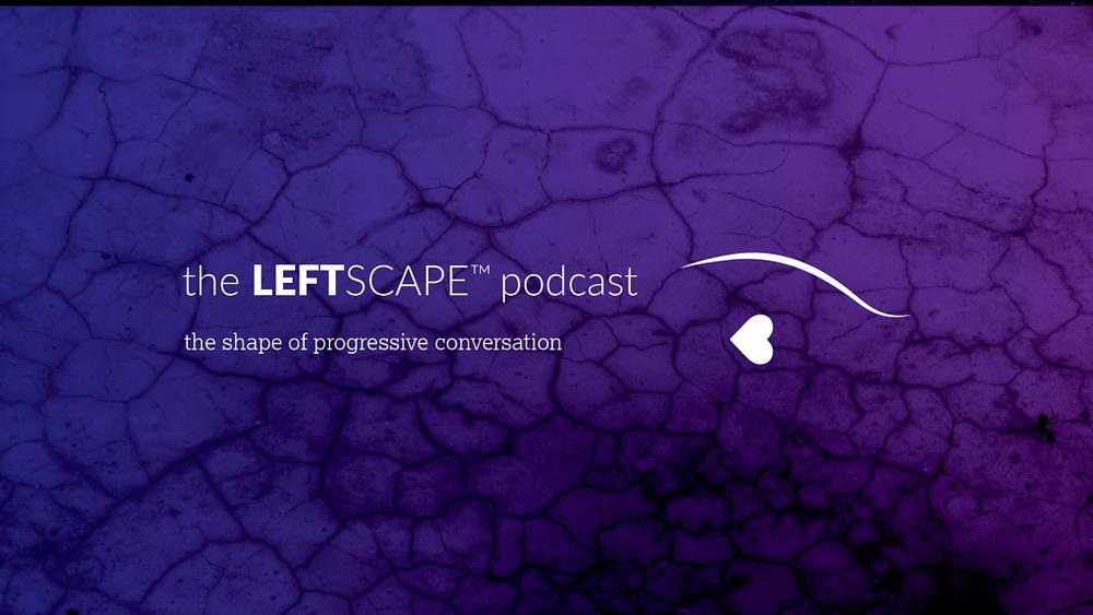 The Leftscape logo, banner