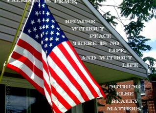 Blog March Day 11: Susanwithpearls says The First Principle of Freedom is Peace