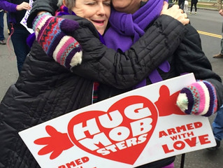 Blog March Day 19: Edie Weinstein is on a Mission to Heal Hate with Hugs