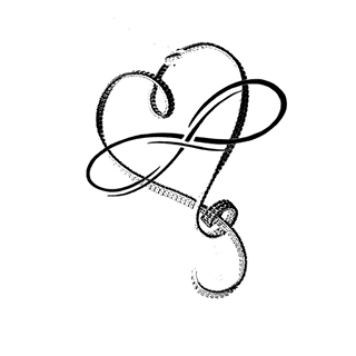 Poly Role Models blog logo, Infinity Heart - Polyamory Symbol