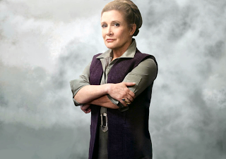 General Leia Organa, Carrie Fisher