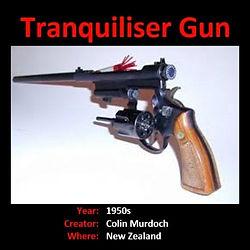 innovationnewzealand TRANQUILIZER GUN.jp