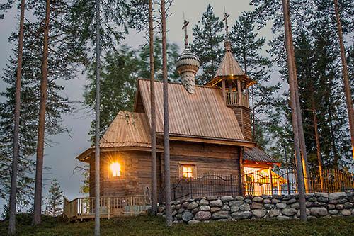 Храм Св. Георгия Победоносца в Кайтайнен