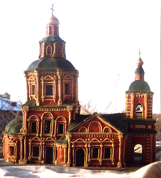 Храм в стиле Нарышкинского барокко