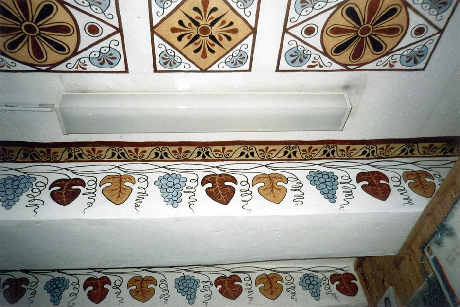 Роспись потолка прихожей