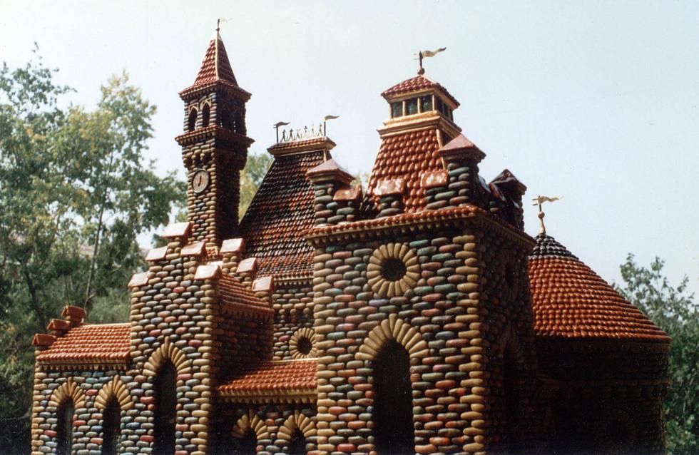 Пластилиновый замок, верх