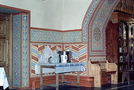 Стенная роспись, орнамент