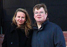 Пекка Вильякайнен и Анастасия Инюшина