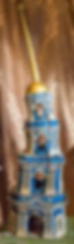 колокольня из пластилина
