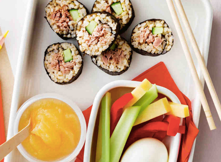 Kid-Friendly Sushi and Snacks