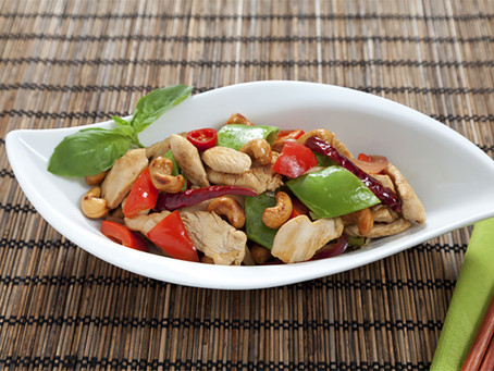 Chicken, Cashew and Vegetable Stir Fry