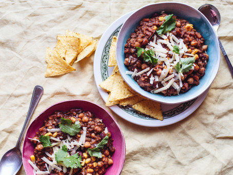 Granny's Slow-Cooker Vegetarian Chilli