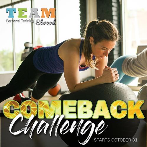 Comeback Challenge Registration