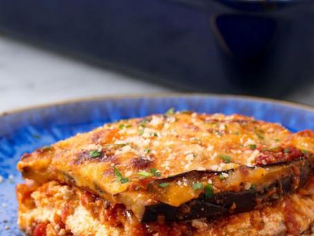 Easy Eggplant Lasagne