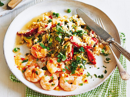 Prawn & Cauliflower Rice