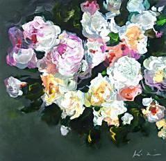 'Roses Bouquet' 24x24.jpg