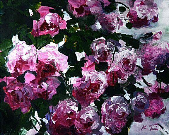 Pink Roses II 24x30.jpg