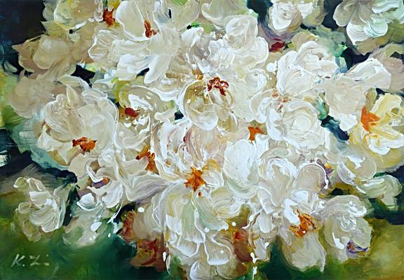 'White Flowers' 24x36.jpg