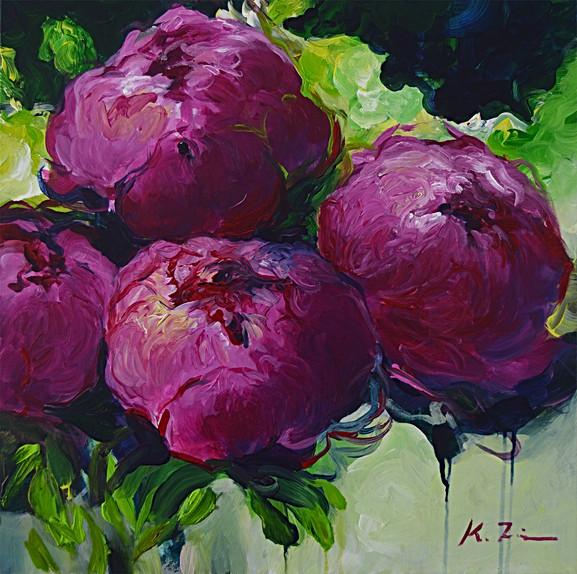 'Purple Peonies' 24x24.jpg