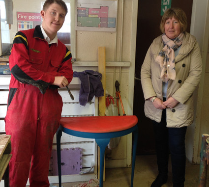 Placement pupil gets hands on experience