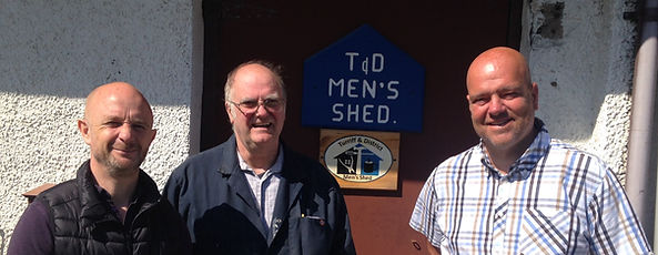 Meeting of mens shed and placement offic