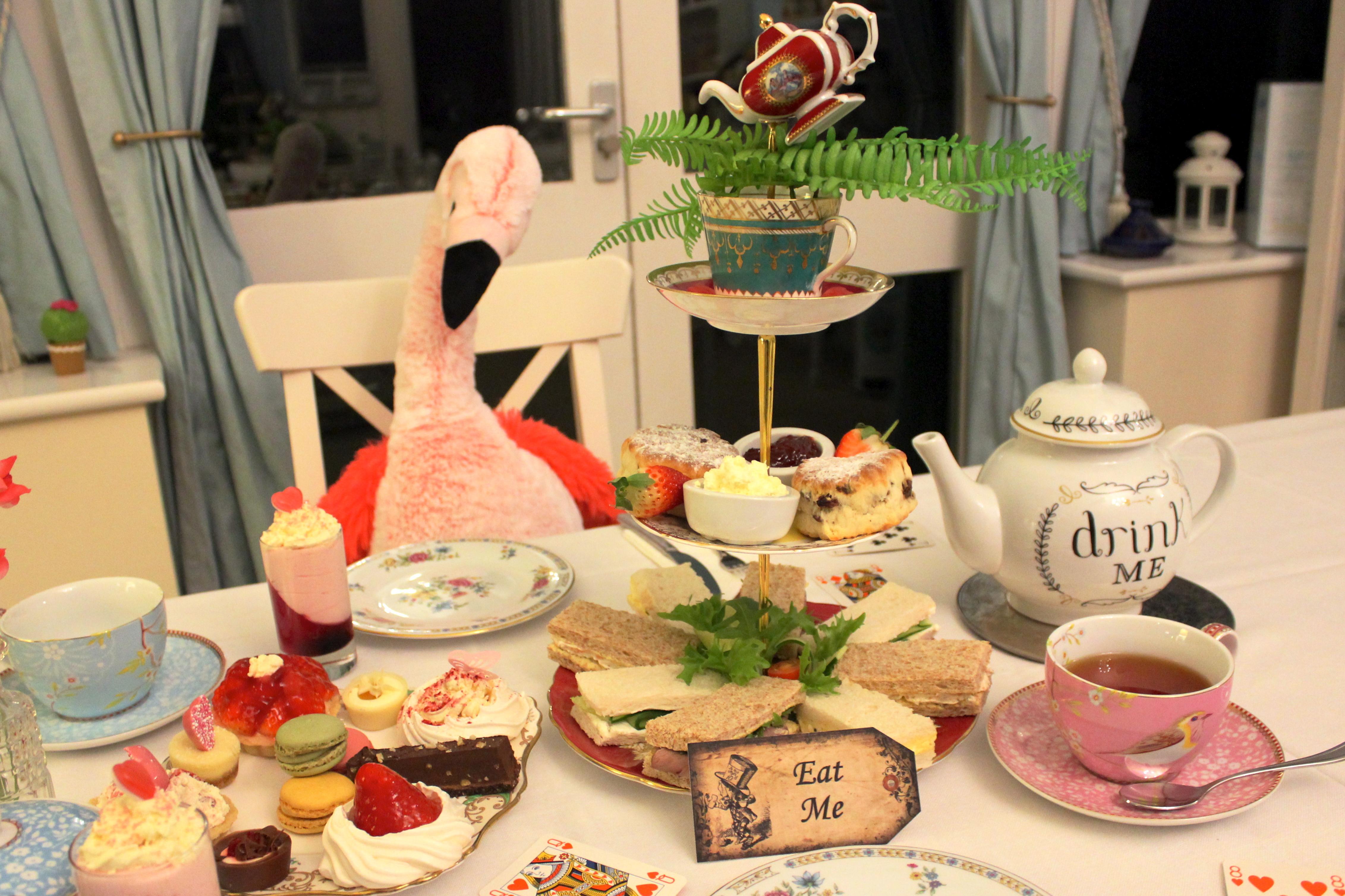 Wonderland Afternoon Tea