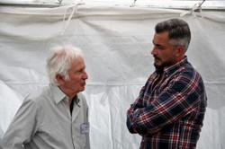 Marcel Amont et Olivier Mine