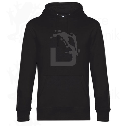 Hoodie WEINGUT DISSON in blackprint