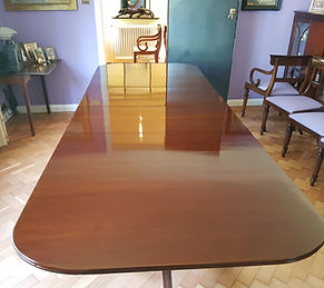 French Polished Mahoganey Table Sevenoaks