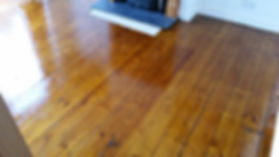 traditional refinished floor boards
