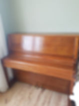 Oak Piano fully restored