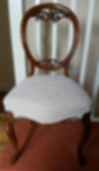 French Polished chair in Bickley