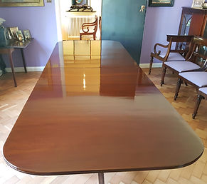 French Polished Mahoganey Table