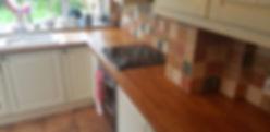 oak kitchen worktop