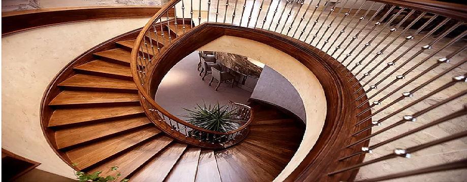French Polished Staircase Sevenoaks