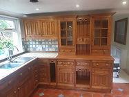 Pine French Polished Kitchen