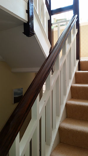 French Polished Oak Rail Full Shine Bexhill-on-Sea